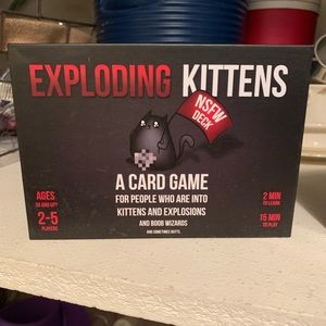 Other - Exploding Kittens game